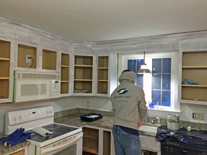 How To Paint Your Kitchen Cabinets Before Amp After