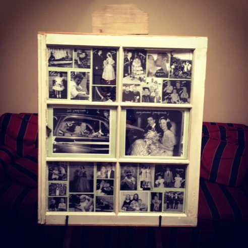 SS Wedding Week] DIY Wedding: Window Pane Photo Frame