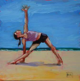 Love This Yoga Pose Paintings